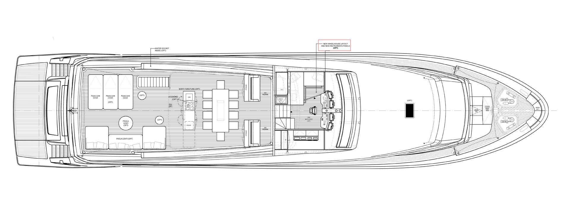 Sanlorenzo Yachts SL106-625 Flying bridge