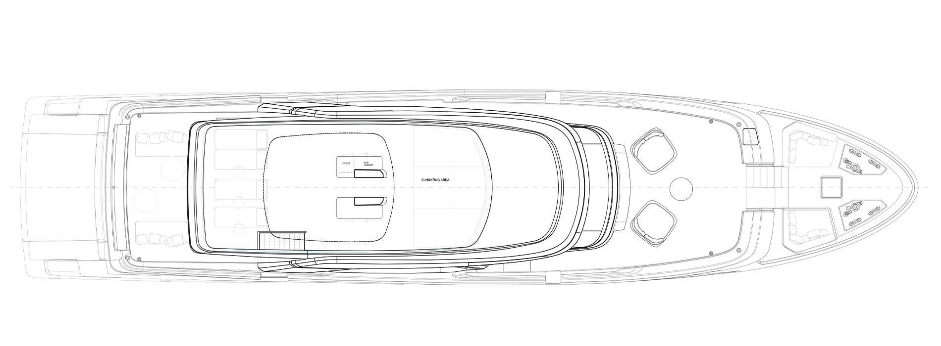 Sanlorenzo Yachts SD118 Flying