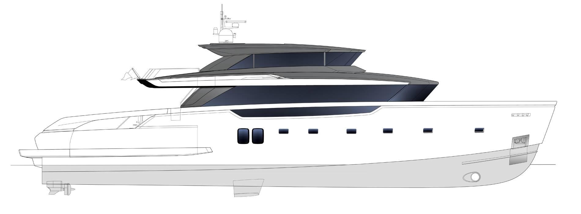 Sanlorenzo Yachts SX112 Perfil