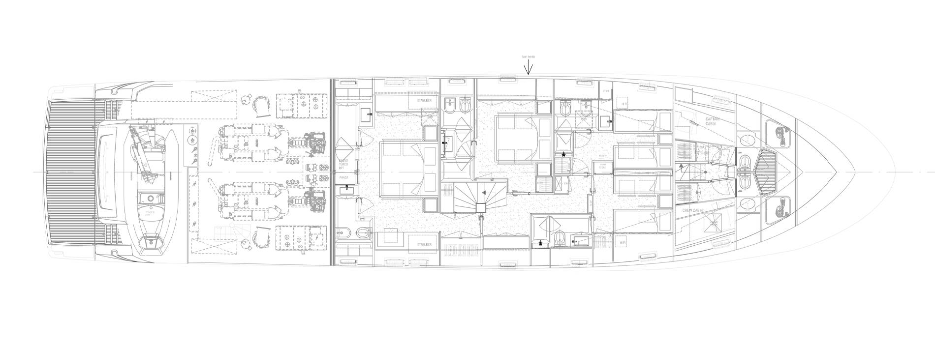 Sanlorenzo Yachts SL96-631 Lower Deck