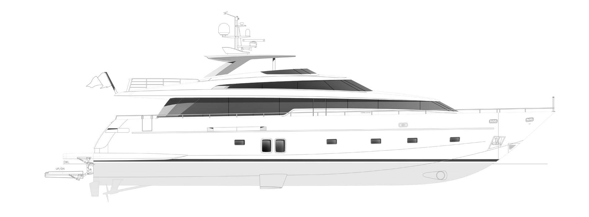 Sanlorenzo Yachts SL96-631 Perfil
