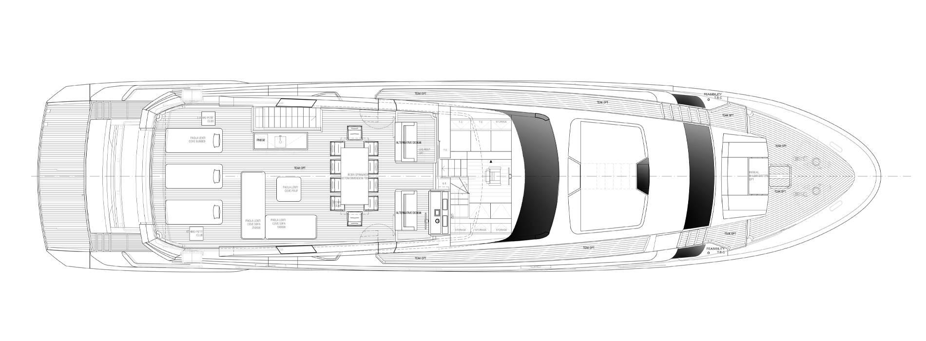 Sanlorenzo Yachts SL102A-746 Flying bridge