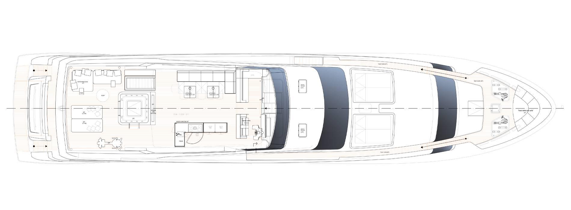Sanlorenzo Yachts SL118-628 Flying