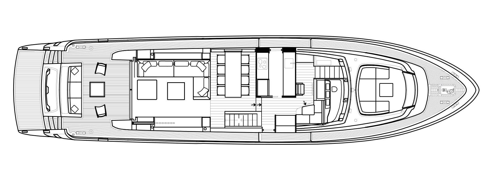 Sanlorenzo Yachts SL78 Main Deck