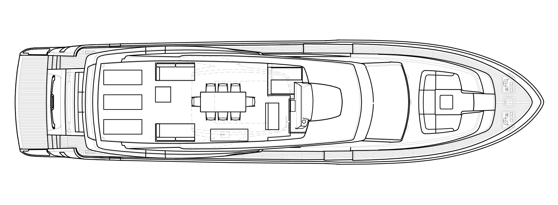 Sanlorenzo Yachts SL86 Flying bridge Version A