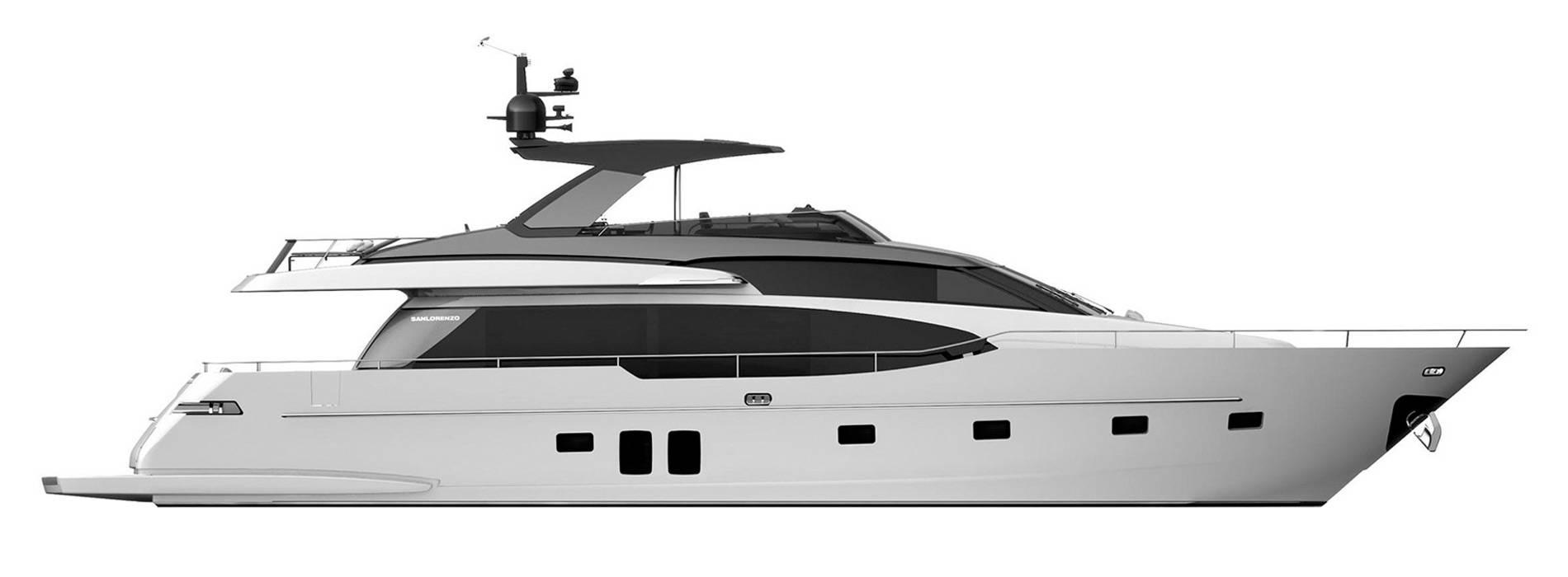 Sanlorenzo Yachts SL78 Perfil