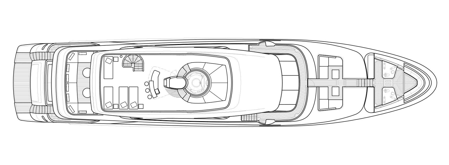 Sanlorenzo Yachts SD126 Flying bridge Versione A
