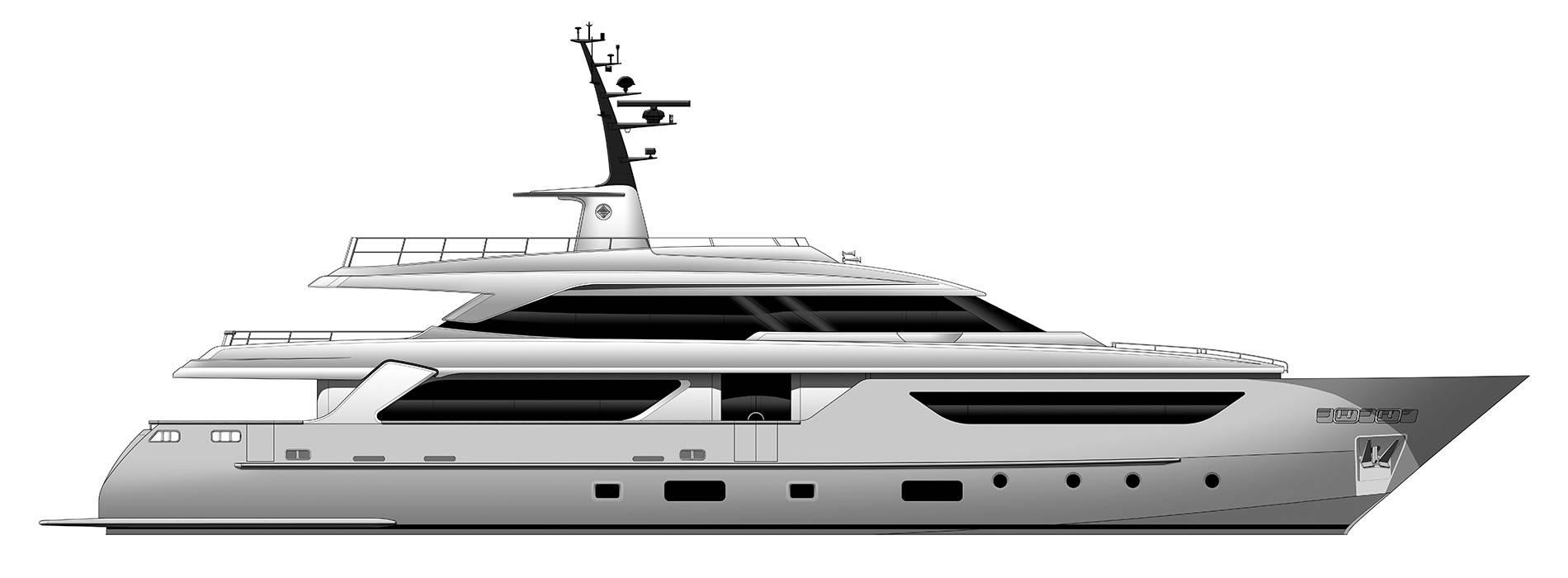 Sanlorenzo Yachts SD126 Perfil