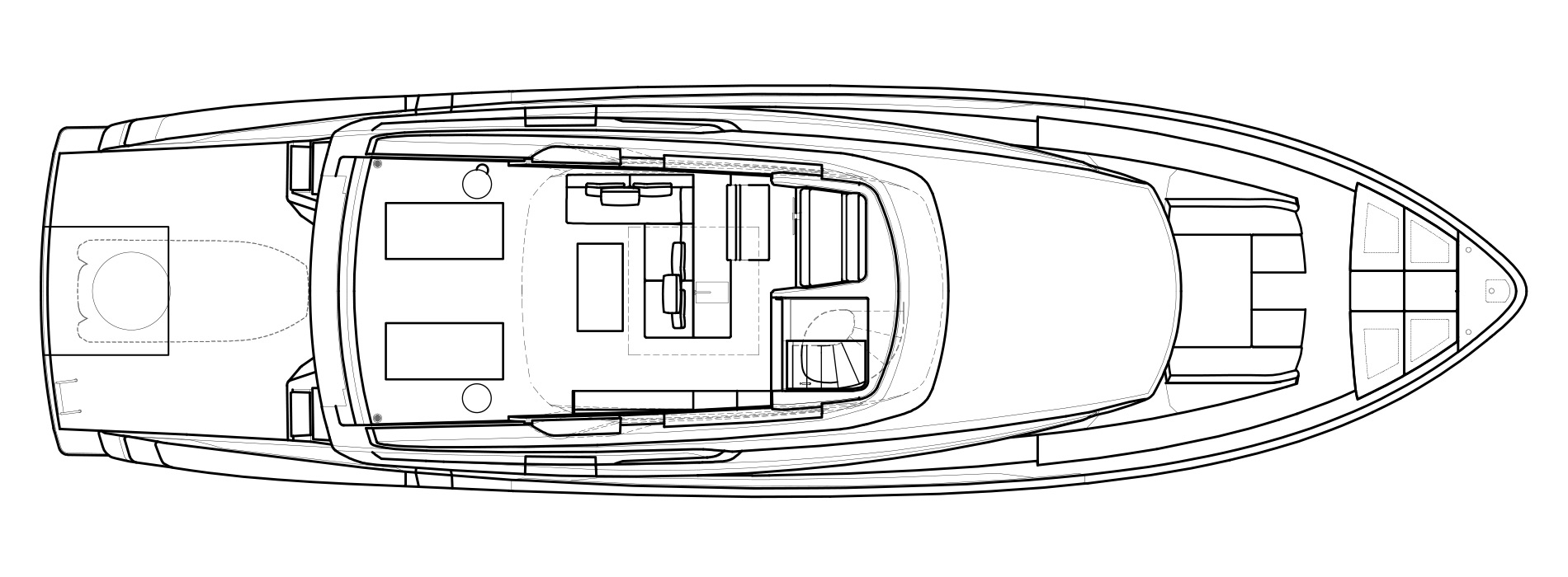 Sanlorenzo Yachts SX76 Flying bridge Versione Lissoni