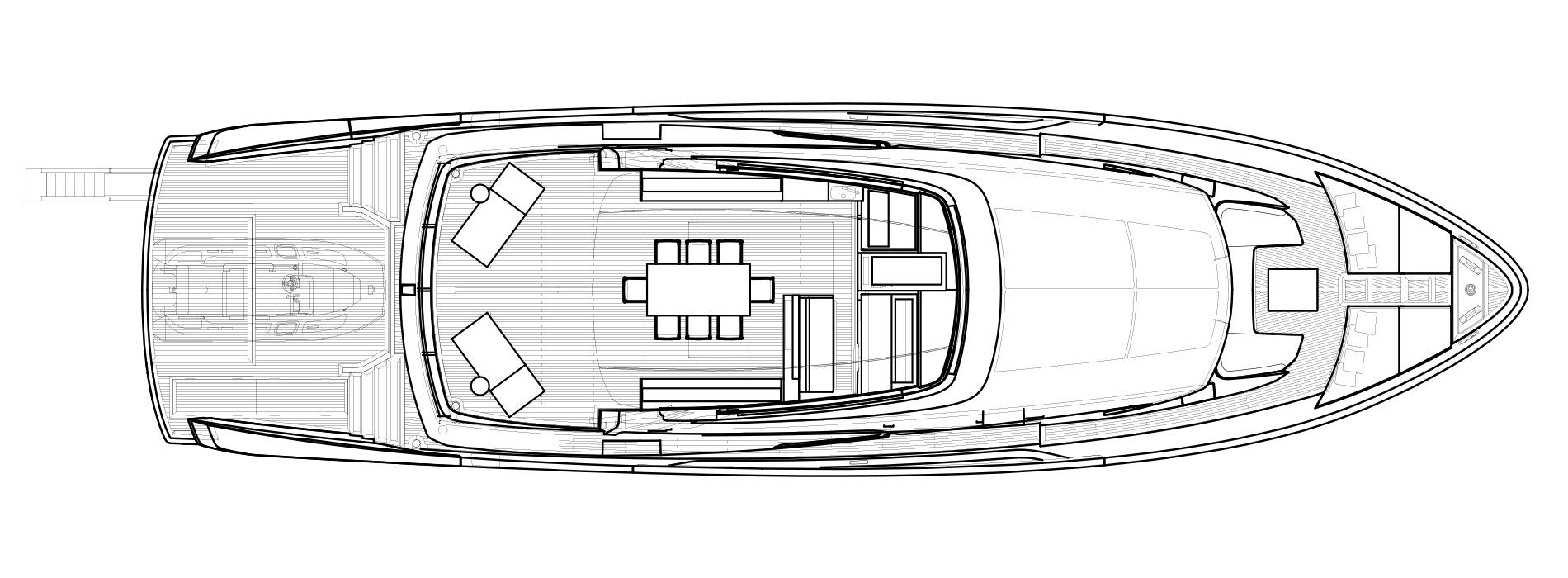 Sanlorenzo Yachts SX88 Flying bridge Versione Lissoni