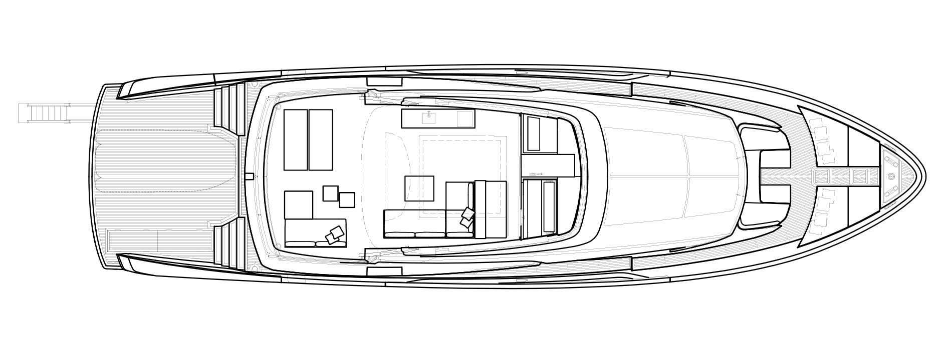 Sanlorenzo Yachts SX88 Flying bridge Versione A