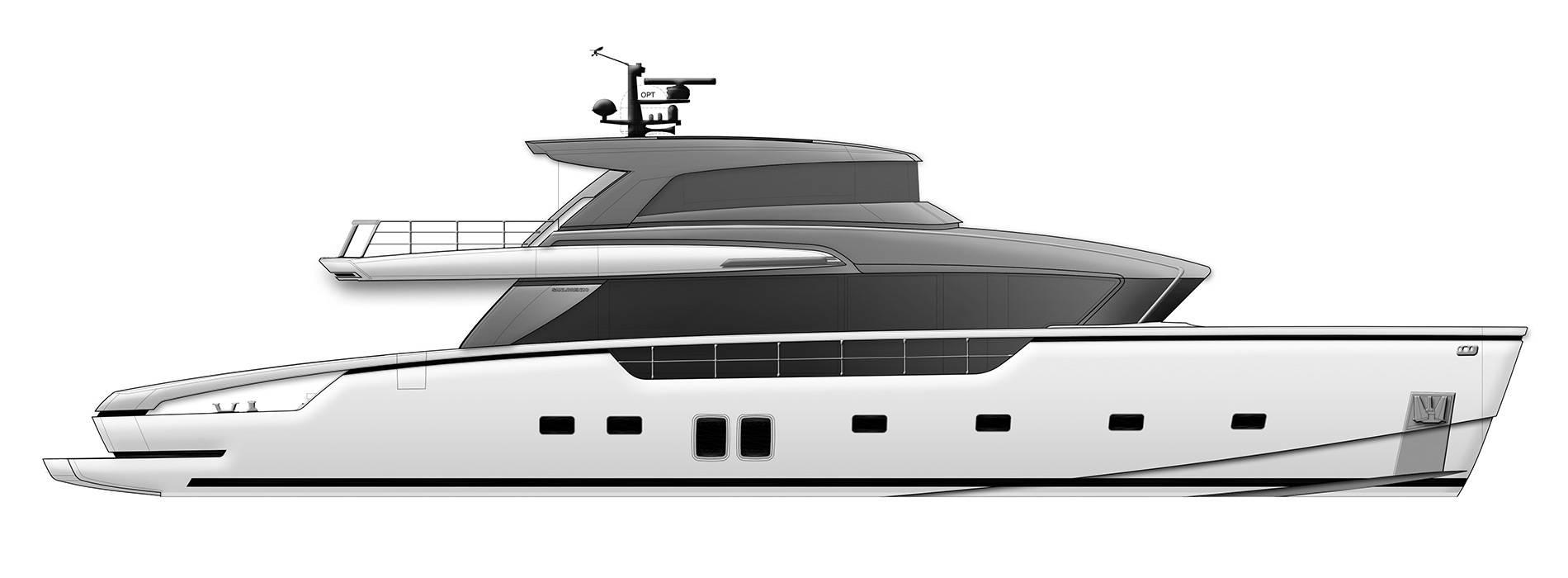 Sanlorenzo Yachts SX88 Profile