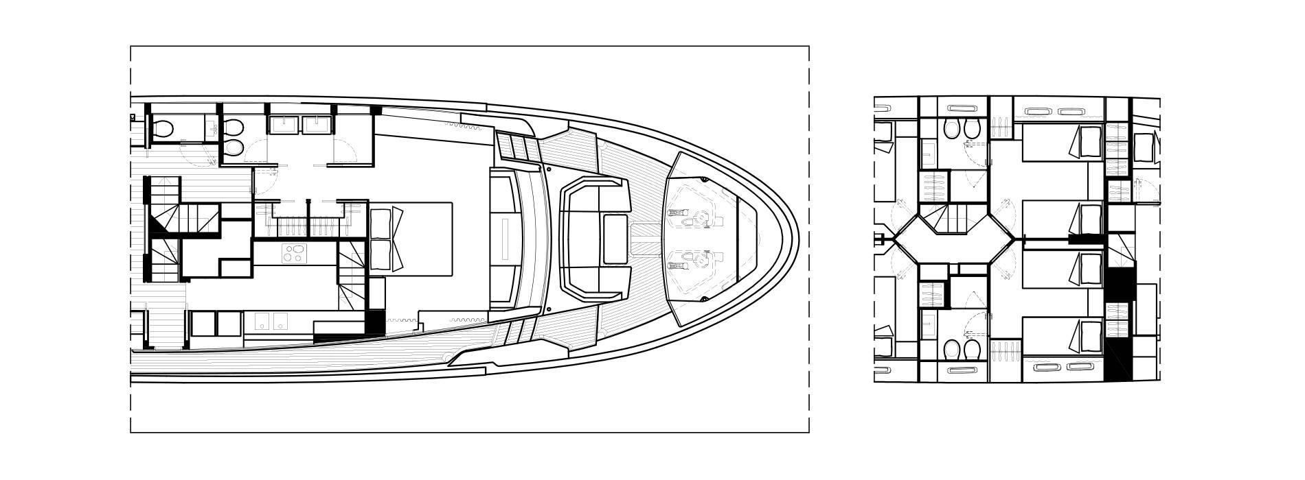 Sanlorenzo Yachts SL102 Asymmetric Details